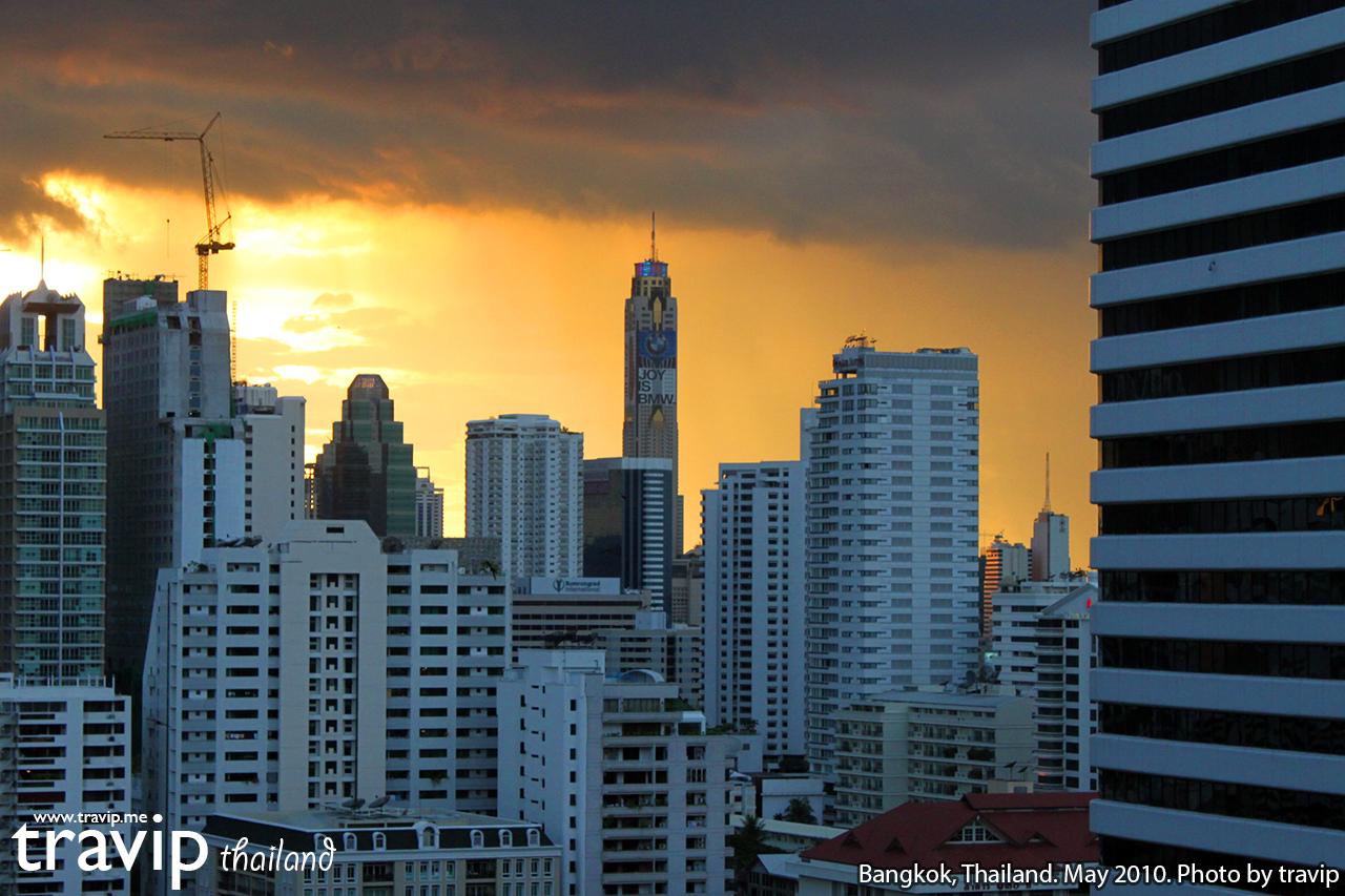 Bangkok lúc hoàng hôn.