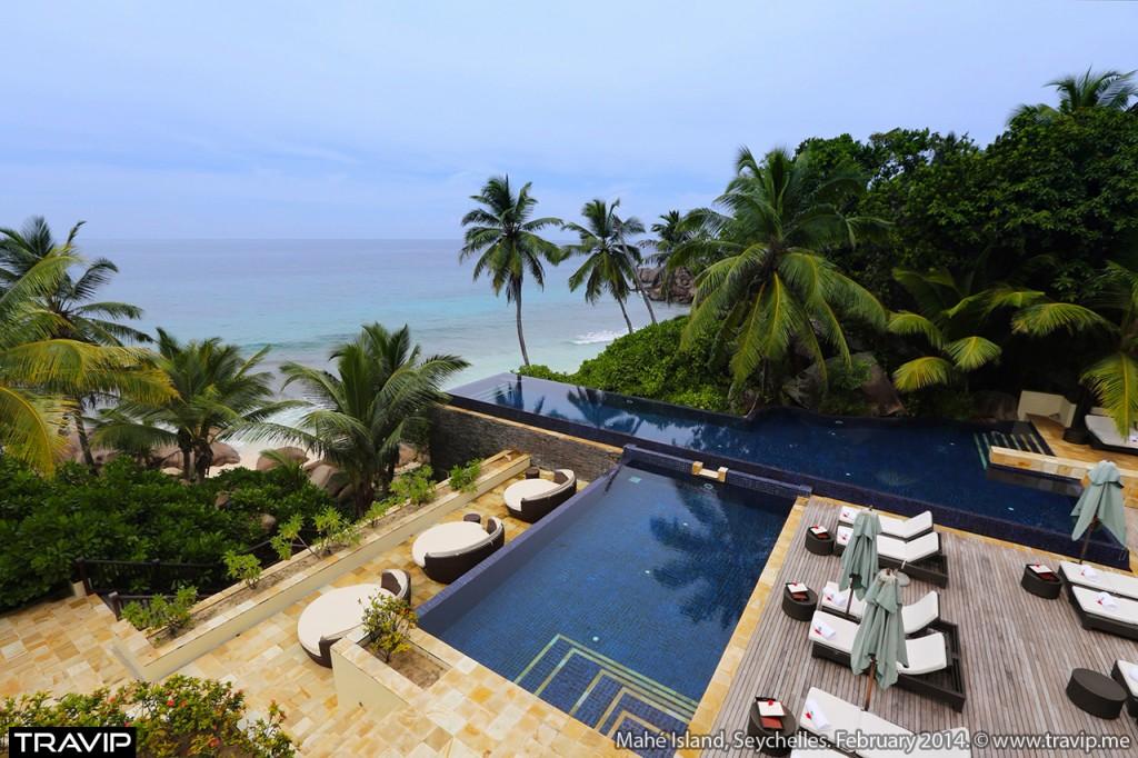 Một resort ở đảo Mahé