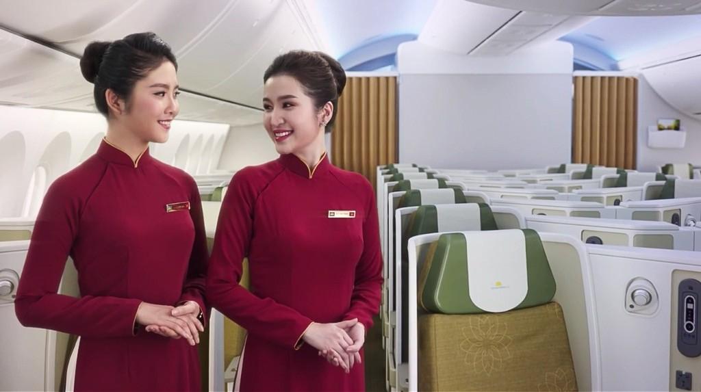 Bên trong máy bay Boeing 787-9 mới của Vietnam Airlines