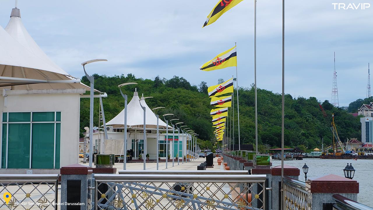 Một góc Bandar Seri Begawan.