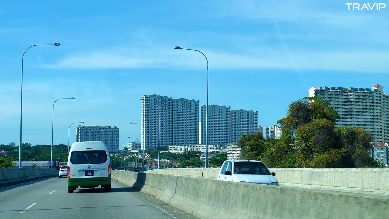 Ấn tượng ban đầu về Penang là hòn đảo dễ chịu, gọn gàng.