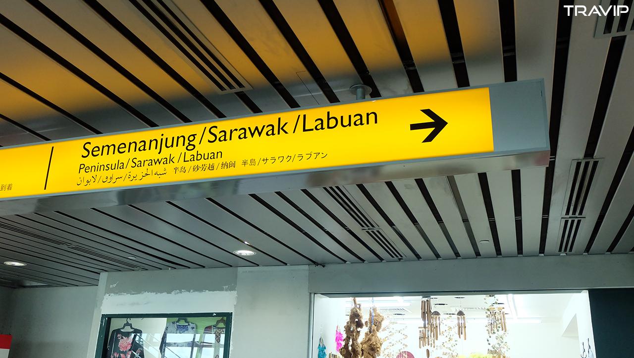 Đến Sabah dù là đi nội địa vẫn phải nhập cảnh thêm lần nữa vì ở đây có quy chế tự trị về di trú.