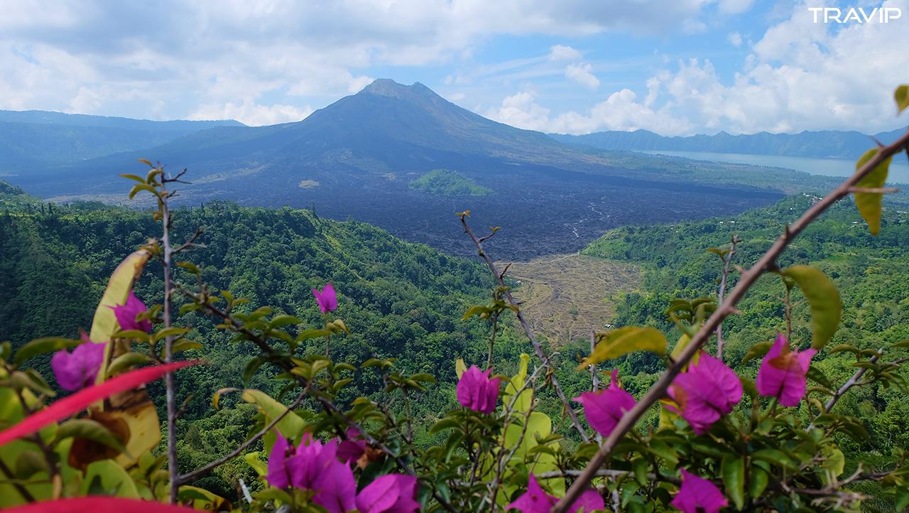 Núi lửa Batur.